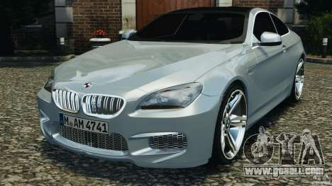 BMW M6 Coupe F12 2013 v1.0 for GTA 4
