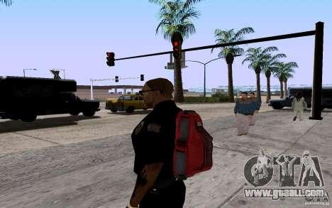 The new parachute for GTA San Andreas forth screenshot
