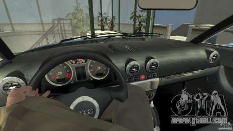 Audi TT 1.8 (8N) for GTA 4 right view