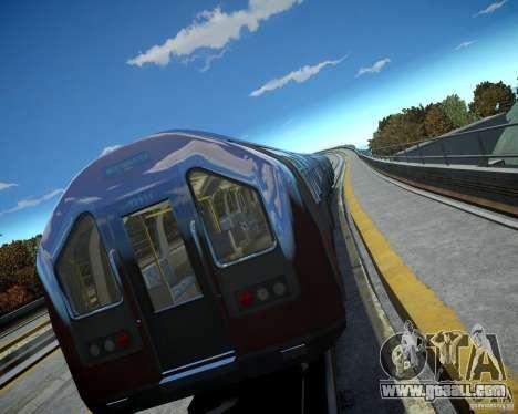 London Train for GTA 4 third screenshot