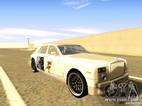 Rolls-Royce Phantom V16 for GTA San Andreas engine