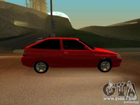 VAZ-2112 for GTA San Andreas back left view