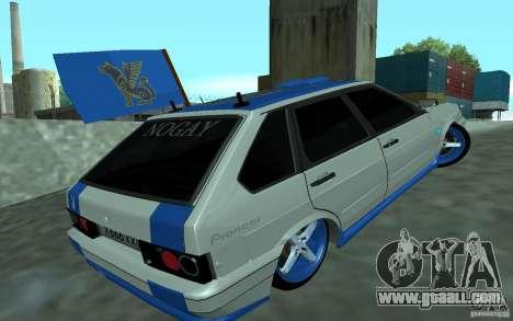 Ваз 2114 Nogay Tun for GTA San Andreas left view