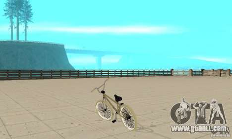 Khe Barbados LT for GTA San Andreas back left view