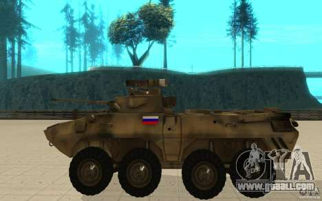 BTR-90 for GTA San Andreas left view