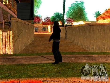 Alex Mercer for GTA San Andreas third screenshot