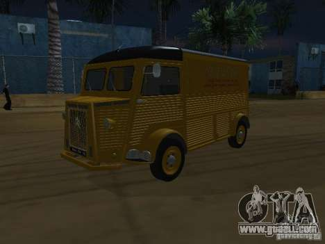 Citroen HY 1972 for GTA San Andreas back view