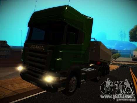 Scania R580 for GTA San Andreas