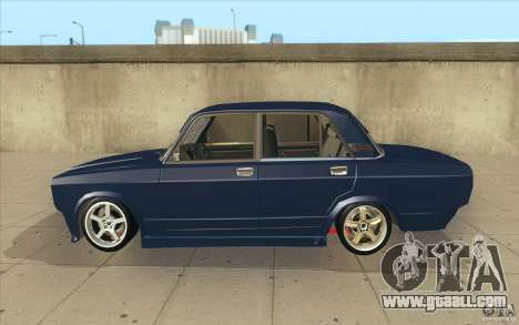 Vaz-2107 Lada Street Drift Tuned for GTA San Andreas left view