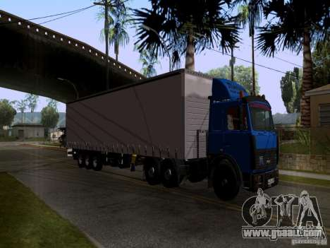 MAZ 642208 for GTA San Andreas side view
