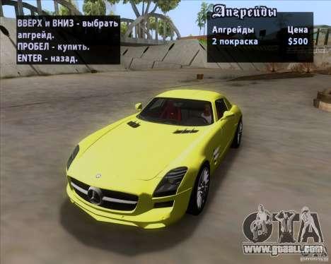 Mercedes-Benz SLS AMG V12 TT Black Revel for GTA San Andreas side view