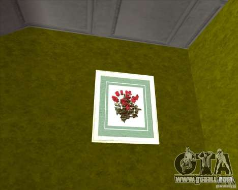 New Interior of CJs House for GTA San Andreas fifth screenshot