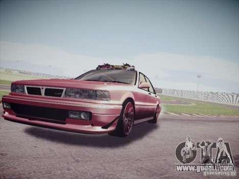 Mitsubishi Galant 1992 JDM for GTA San Andreas back left view
