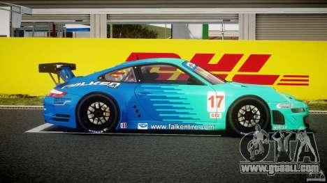 Porsche GT3 RSR 2008 for GTA 4 inner view