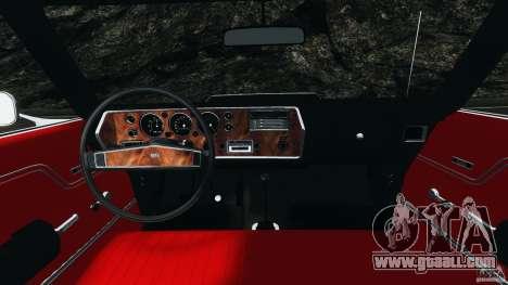 Chevrolet Chevelle SS 1970 v1.0 for GTA 4 back view