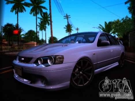 Ford Falcon FPV F6 TYPHOON XR8 2007 for GTA San Andreas