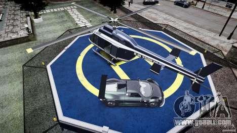 Gumpert Apollo Sport v1 2010 for GTA 4 bottom view