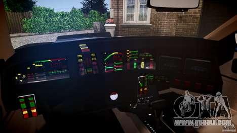 KITT Knight Rider for GTA 4 back view