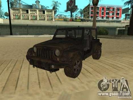 Jeep Wrangler SE for GTA San Andreas