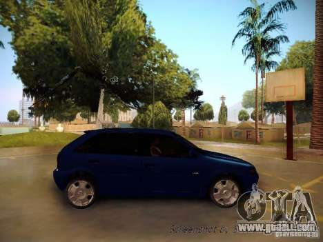 Volkswagen Golf V2.0 Final for GTA San Andreas back left view