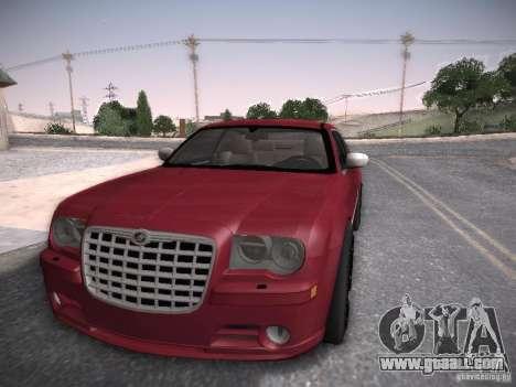 Chrysler 300C SRT8 for GTA San Andreas back left view