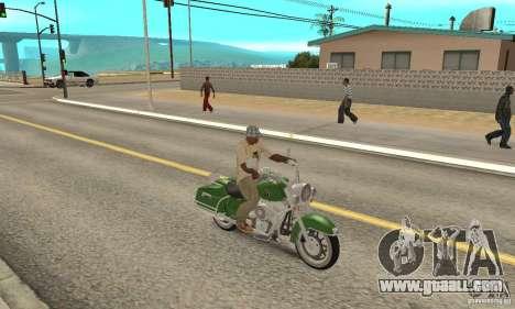 Harley Davidson Road King for GTA San Andreas right view
