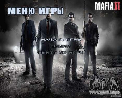 Loading screens of Mafia 2 for GTA San Andreas