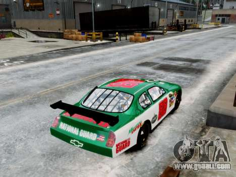 Chevrolet Monte Carlo SS 88 Nascar for GTA 4 back left view