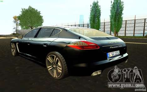 Porsche Panamera Turbo for GTA San Andreas left view