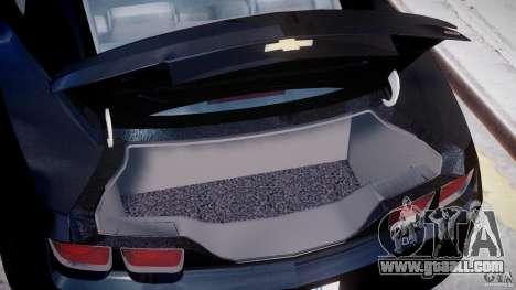Chevrolet Camaro SS 2009 v2.0 for GTA 4 engine