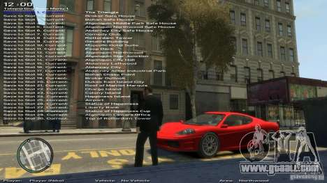 Simple Trainer Version 6.3 for 1.0.1.0-1.0.0.4 for GTA 4 eighth screenshot