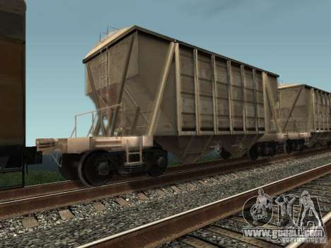 Cement hopper for GTA San Andreas