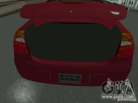 Chrysler 300M for GTA San Andreas back view