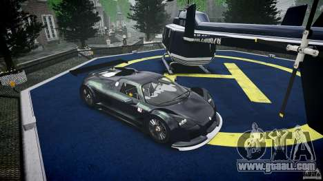 Gumpert Apollo Sport v1 2010 for GTA 4 inner view