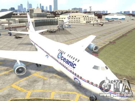 Oceanic Airlines for GTA 4 left view
