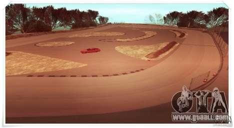 The Ebisu South Circuit for GTA San Andreas second screenshot