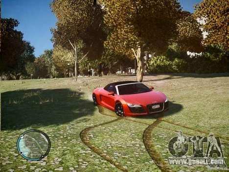 Audi R8 Spyder 5.2 FSI Quattro V4 [EPM] for GTA 4 left view