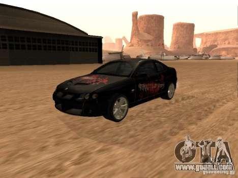 Vauxhall Monaro for GTA San Andreas upper view