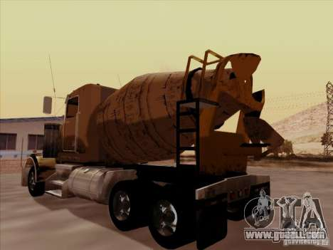 Kenworth W 900 for GTA San Andreas back view