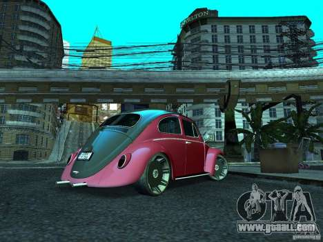Volkswagen Fusca 1966 Tuning for GTA San Andreas left view