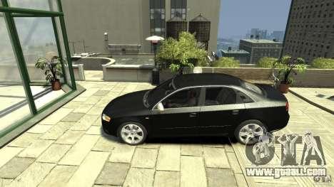 Audi S4 Quattro for GTA 4 left view
