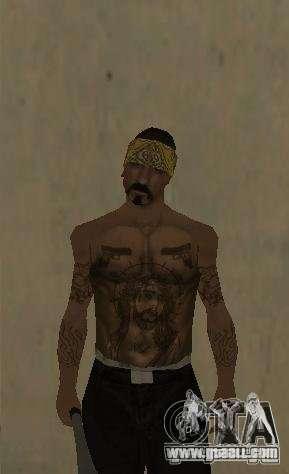 Los Santos Vagos (Skin pack) for GTA San Andreas second screenshot
