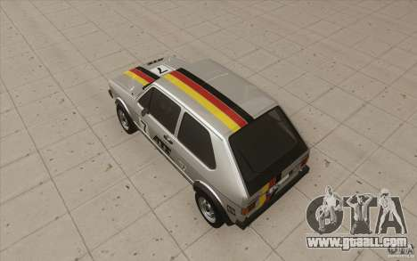 Volkswagen Golf Mk1 - Stock for GTA San Andreas wheels