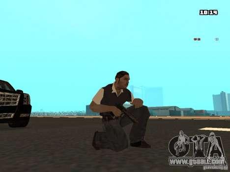 No Chrome Gun for GTA San Andreas second screenshot