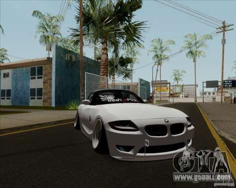 BMW Z4 Hellaflush for GTA San Andreas left view