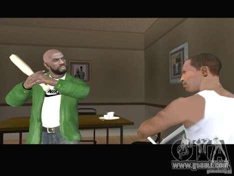 New Sweet, Smoke and Ryder v1.0 for GTA San Andreas sixth screenshot