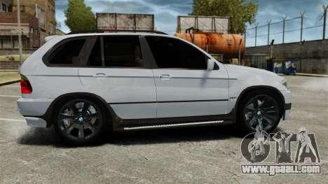 BMW X5 4.8IS BAKU for GTA 4 left view
