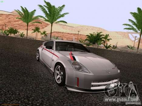 Nissan 350Z Nismo S-Tune for GTA San Andreas