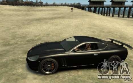 Aston Martin DB9 Super GTR beta for GTA 4 left view