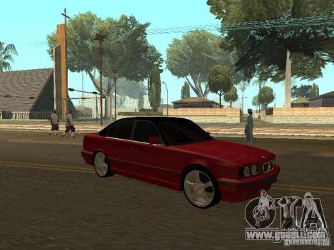 BMW 540i E34 for GTA San Andreas